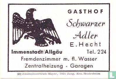 Schwarzer Adler - E. Hecht