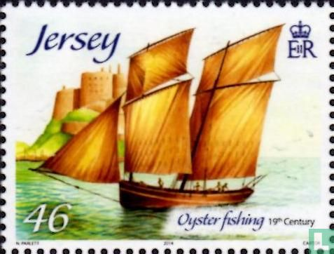 Jersey - Oyster fishery