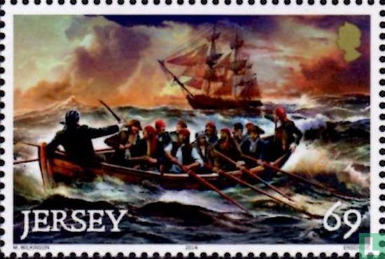 Jersey - Pirates & freebooting 18th century