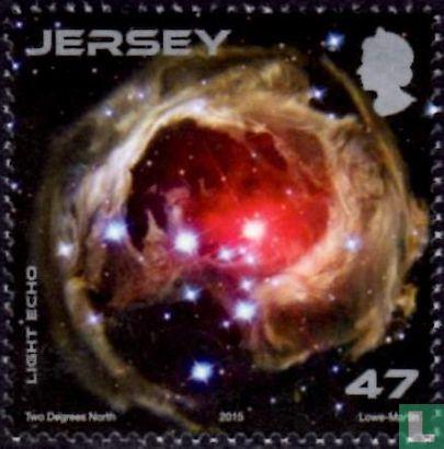 Jersey - Hubble telescope 25 years