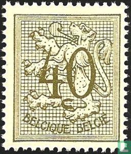Belgium [BEL] - Digit on heraldic Lion