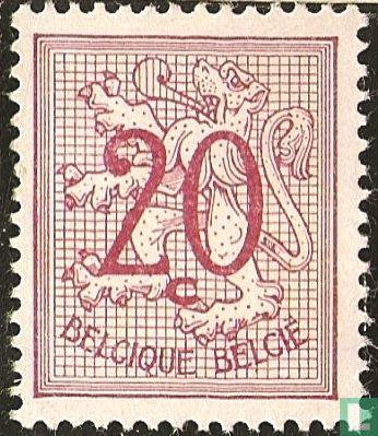 Belgium [BEL] - Figure on heraldic Lion