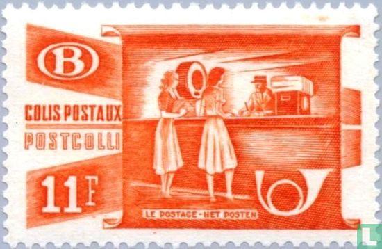 Belgien [BEL] - Paketpostdepot