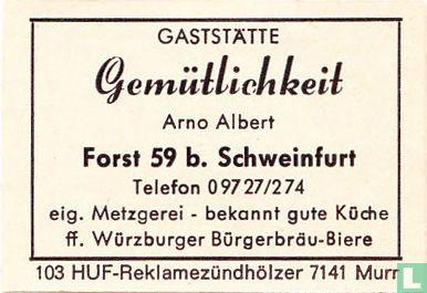 Gaststätte Gemütlichkeit - Arno Albert