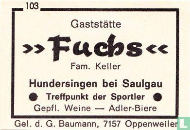 """Gaststätte """"Fuchs"""" - Fam. Keller"""