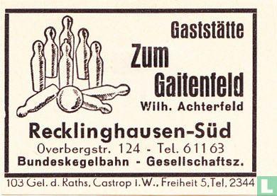 Zum Gaitenfeld - Wilh. Achterfeld