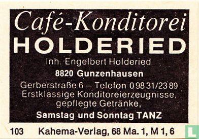 Café-Konditorei Holderied - Engelbert Holderied