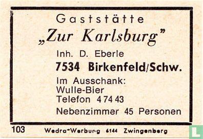 """""""Zur Karlsburg"""" - D. Eberie"""