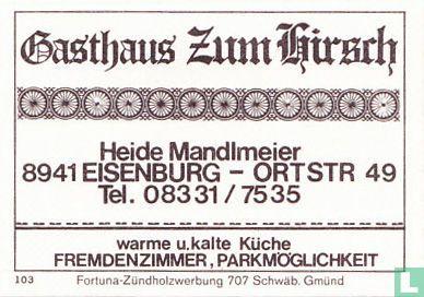 Gasthaus Zum Hirsch - Heide Mandlmeier