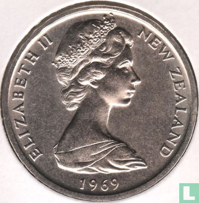 """New Zealand 50 cents 1969 """"Bicentenary of Captain Cook's voyage"""" - Image 1"""