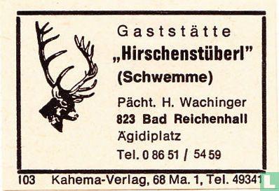 """""""Hirschenstüberl"""" - H. Wachinger"""