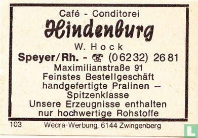 Hindenburg - W. Hoch