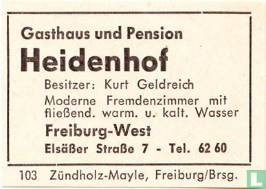 Heidenhof - Kurt Geldreich