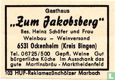 """""""Zum Jakobsberg"""" - Heinz Schäfer und Frau"""