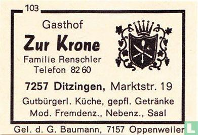 Gasthof Zur Krone - Familie Renschler