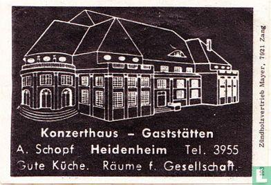 Konzerthaus - A. Schopf