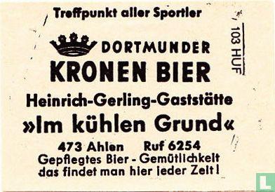 Kronen Bier - Heinrich-Gerling-Gaststätte