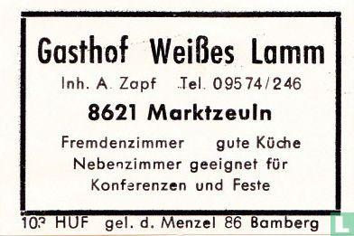 Gasthof Weisses Lamm - A. Zapf