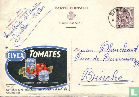 België [BEL] - Postkaart - Publibel 0933