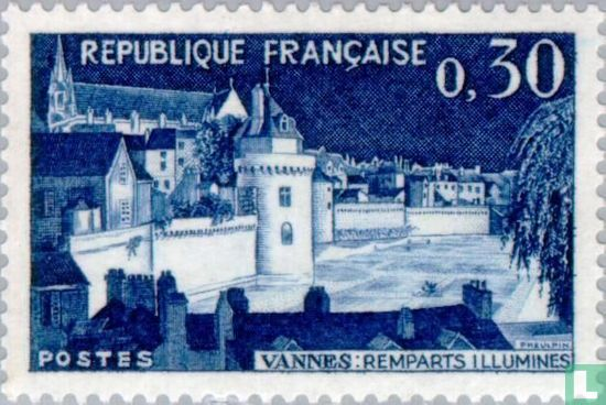 Fortified walls of Vannes