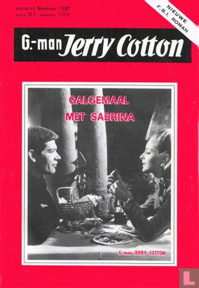 G-man Jerry Cotton 1187