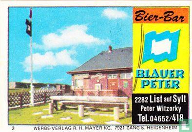 Bier-Bar Blauer Peter - Peter Witzorky