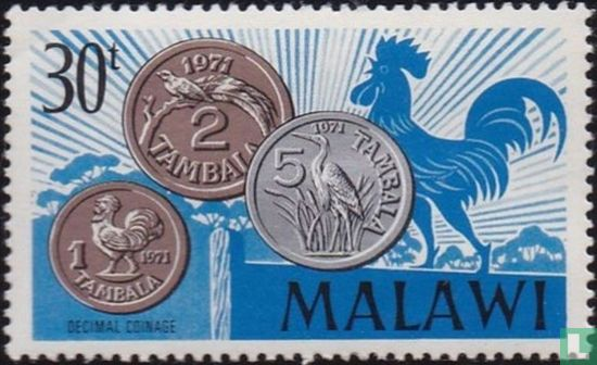 Malawi - Introduction of the decimal currency