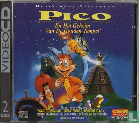 VCD video CD - Pico en het geheim van de gouden tempel