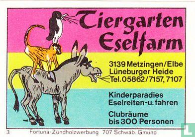 Tiergarten Eselfarm