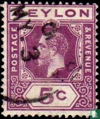 Ceylon - Koning George V