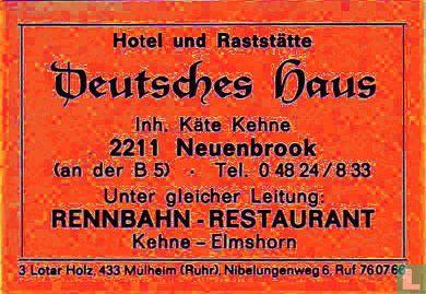 Deutsches Haus - Käte Kehne
