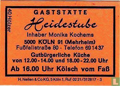 Gaststätte Heidestube - Monika Kochems