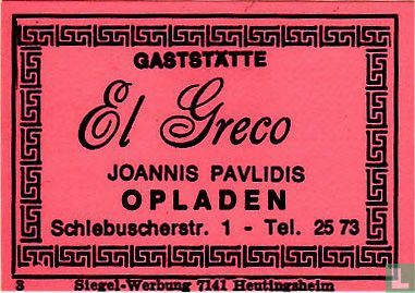 Gaststätte El Greco - Joannis Pavlidis