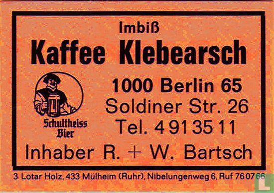 Imbiss Kaffee Klebearsch - R.+W. Bartsch