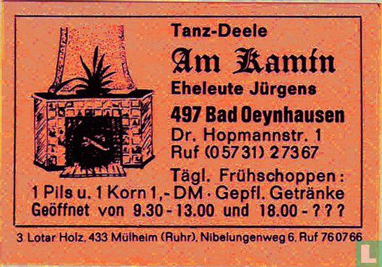Tanz-Deele Am Kamin - Eheleute Jürgens