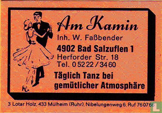Am Kamin - W. Fassbender