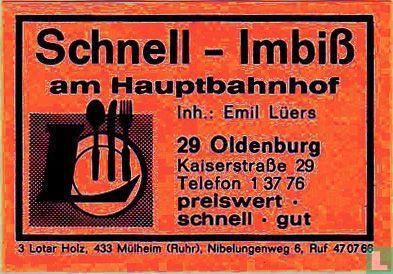 Schnell-Imbiss am Hauptbahnhof - Emil Lüers