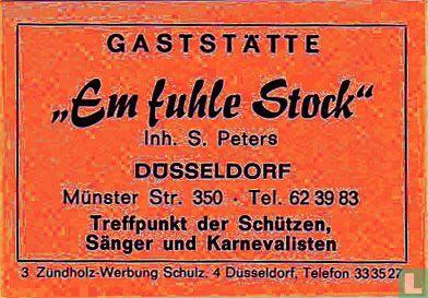 """Gaststätte """"Em fuhle Stock"""" - S. Peters"""