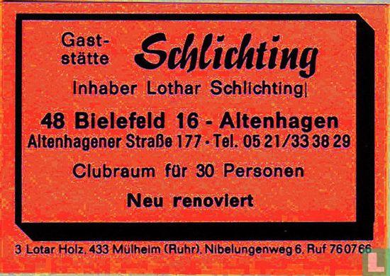 Gaststätte Schlichting - Lothar Schlichting