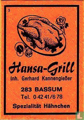 Hansa-Grill - Gerhard Kannengiesser
