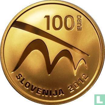"""Slovenia 100 euro 2012 (PROOF) """"Maribor - European Capital of Culture 2012"""" - Image 1"""