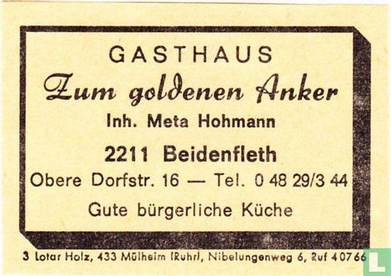 Gasthaus Zum goldenen Anker - Meta Hohmann - Afbeelding 1