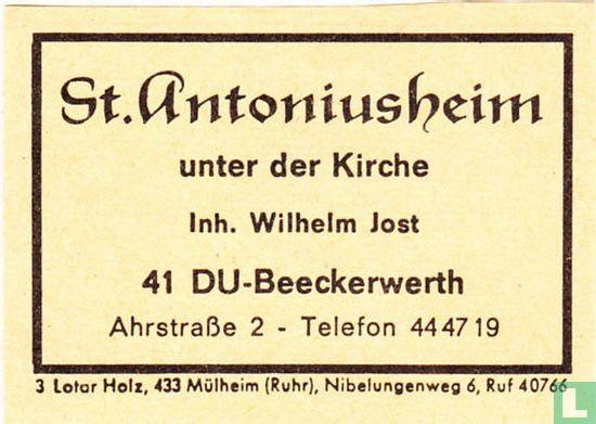St.Antoniusheim - Wilhelm Jost