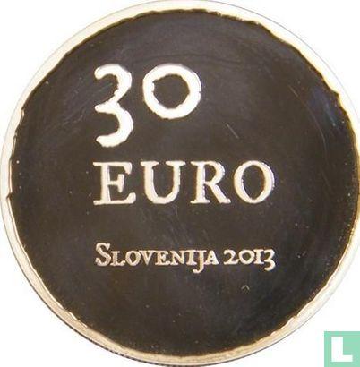 "Slovenia 30 euro 2013 (PROOF) ""300th anniversary of the Tolmin peasant revolt"" - Image 1"