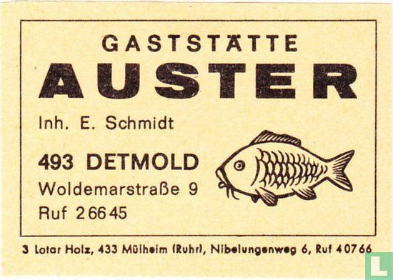 Gaststätte Auster - E. Schmidt