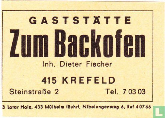 Gaststätte Zum Backofen - Dieter Fischer
