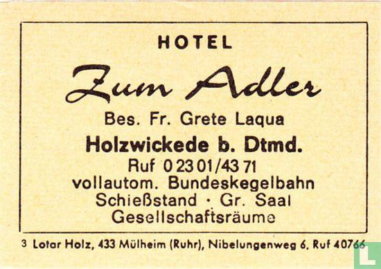Hotel Zum Adler - Fr. Grete Laqua