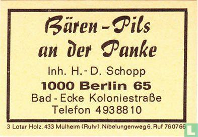 Bären-Pils an der Panke - H.-D. Schopp