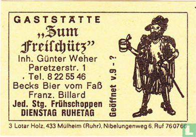 """Gaststätte """"Zum Freischütz"""" - Günter Weher"""