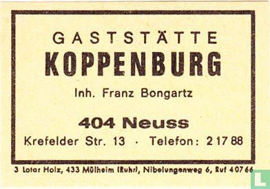 Gaststätte Koppenburg - Franz Bongartz